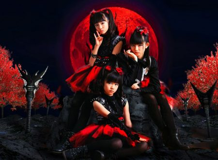 Babymetal in concerto all'Estragon di Bologna.